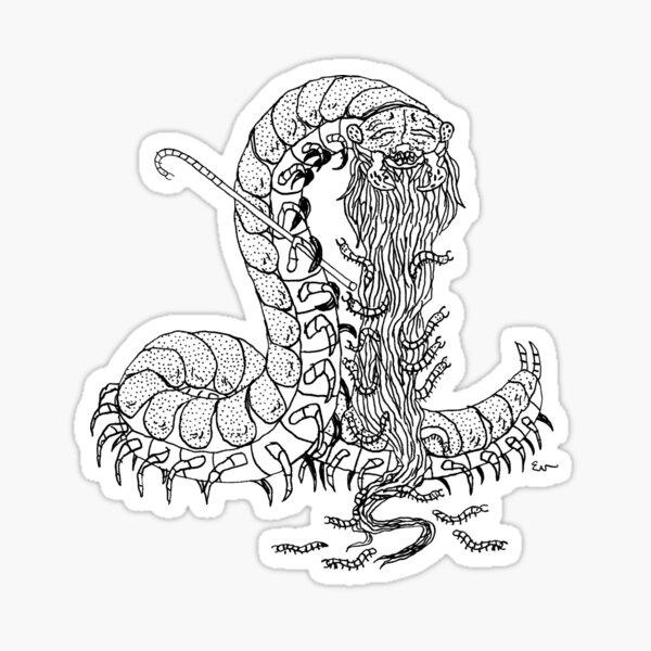 Grand Daddy Centipede  Sticker