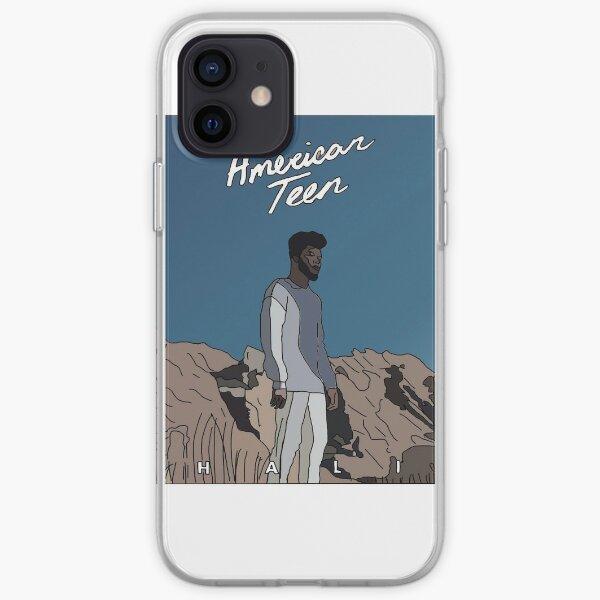 American teen sticker iPhone Soft Case