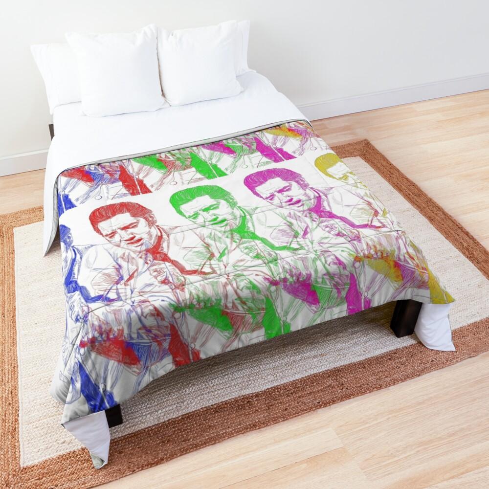 Rainbow Elvis Comforter