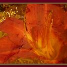 Thank You card by Angele Ann  Andrews