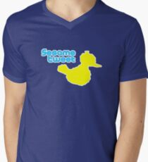 Sesame Tweet - Blue Text T-Shirt