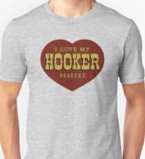 Hooker Headers Unisex T-Shirt