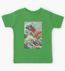 The Great Red Wave Kids Tee