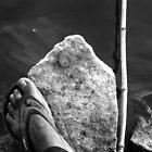Tired of fishing by Antony Pratap