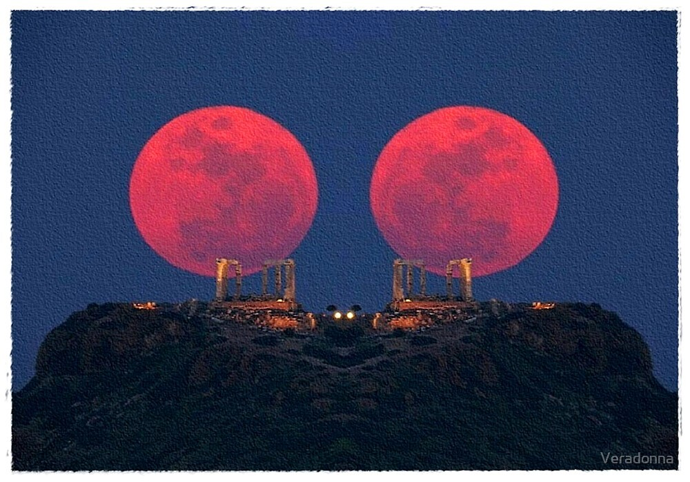 ~  Red Moon Rising ~ by Alexandra  Lexx