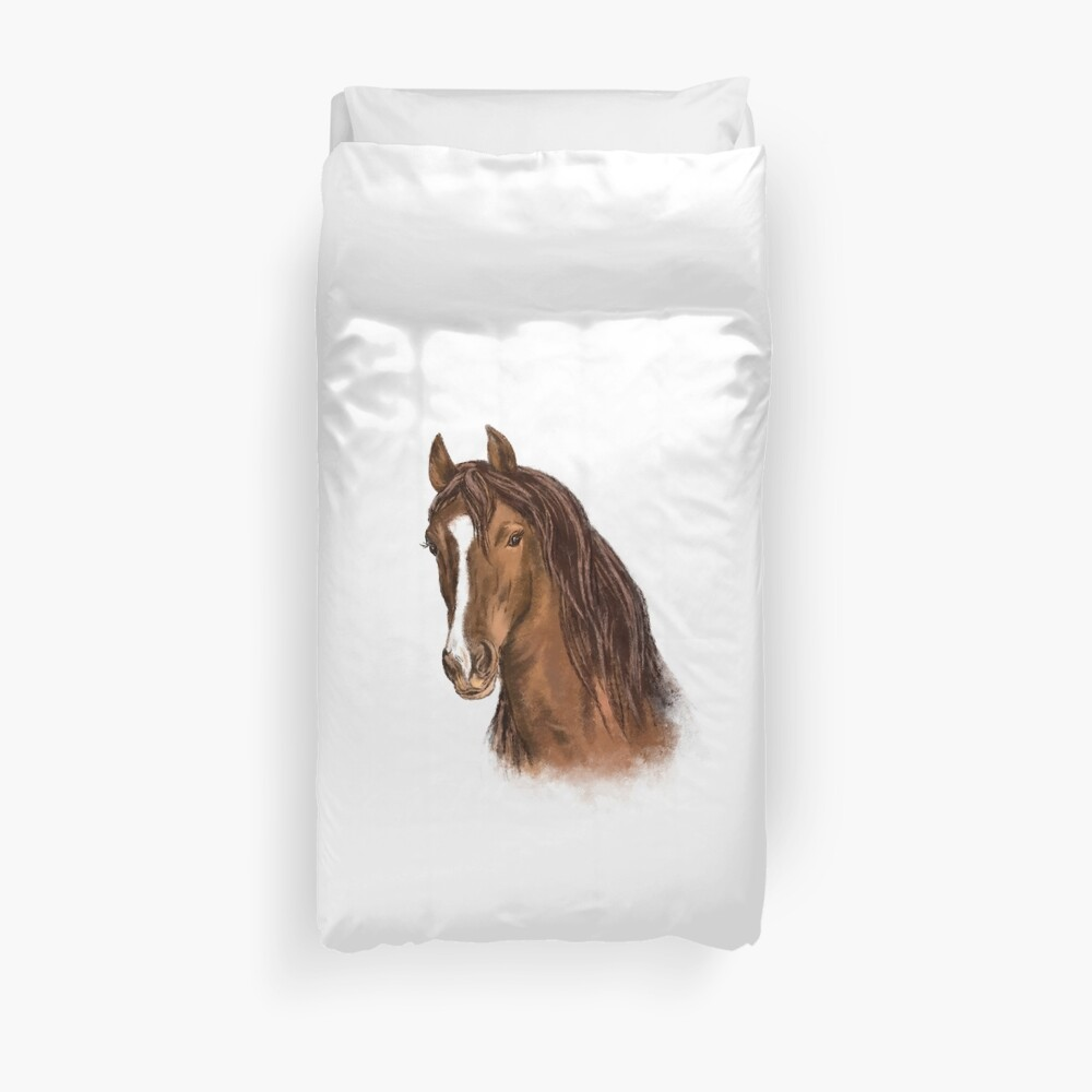 Horse and Equestrian gifts Duvet Cover
