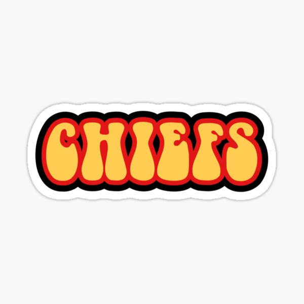 CHIEFS STICKER Sticker