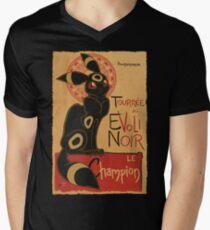 Noir Mens V-Neck T-Shirt