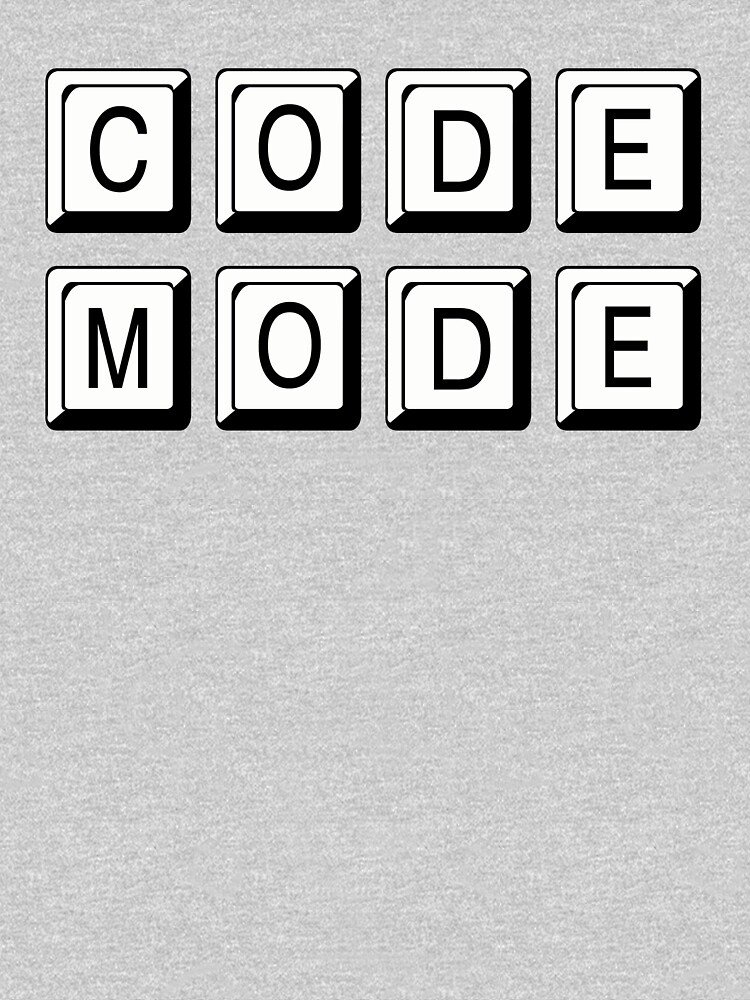 Code Mode for Cool Coders by Rightbrainwoman