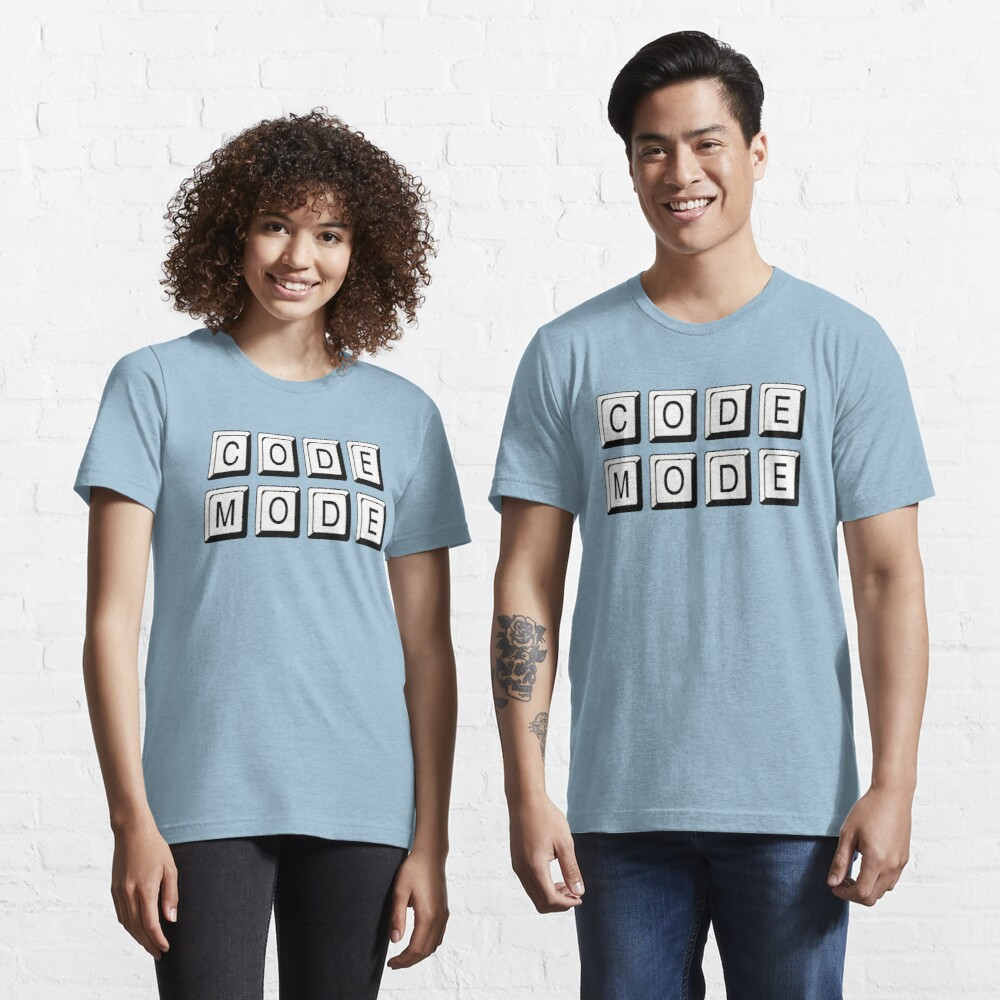 Code Mode for Cool Coders Essential T-Shirt