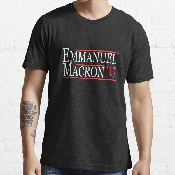 Emmanuel Macron Presidente 2017 T-shirt essentiel