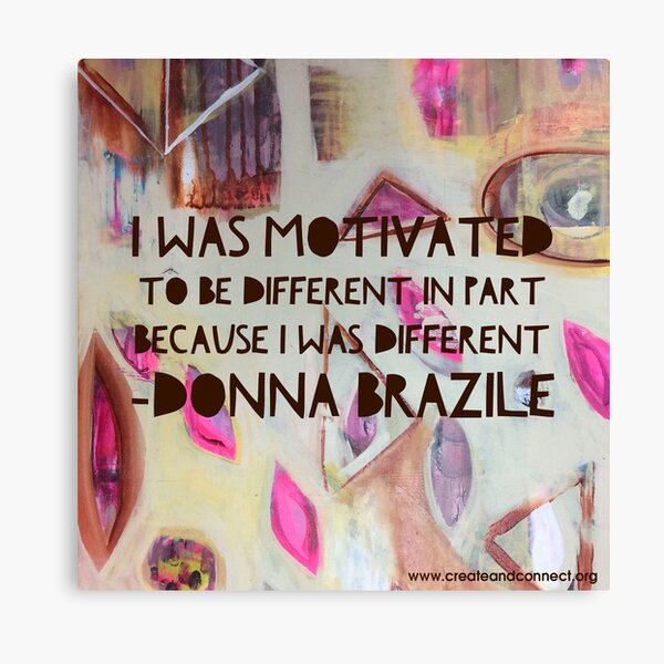 I was motivated to be different Canvas Print