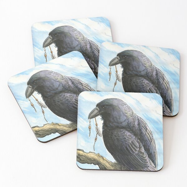 Iridescent Thief Coasters (Set of 4)