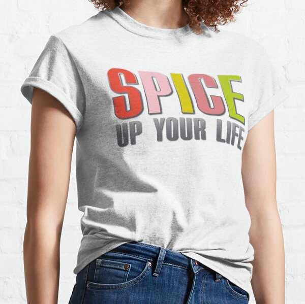Spice Girls, Spice Up Your Life 90s Pop Classic T-Shirt