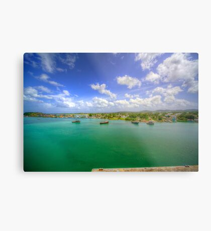 On the Outskirts of Town Metal Print