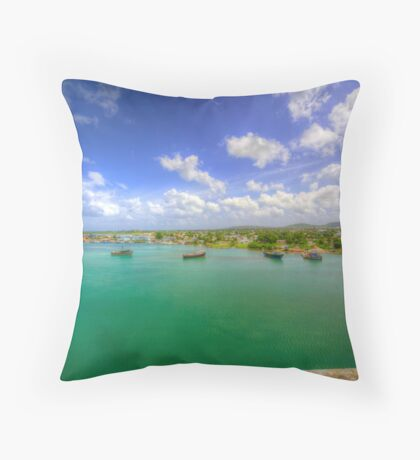 On the Outskirts of Town Throw Pillow