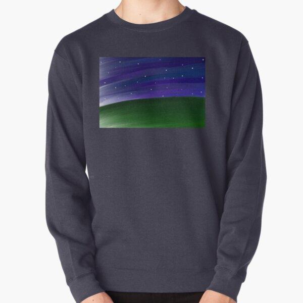 Starscape Painting Pullover Sweatshirt