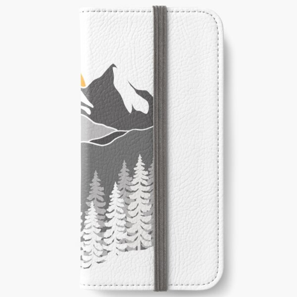 Grey Mountain iPhone Wallet