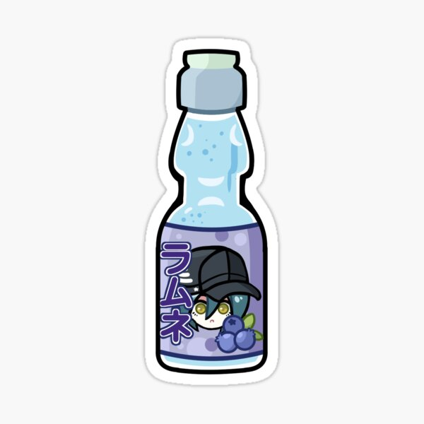 Blueberry Ramune Shuichi Sticker