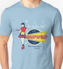 Warpspeed Federation Fly-In Unisex T-Shirt