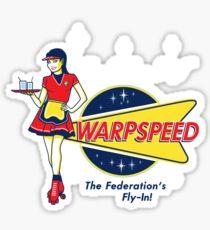 Warpspeed Federation Fly-In Sticker