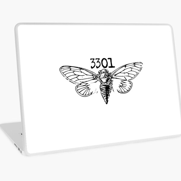 Cicada 3301 Laptop Skin