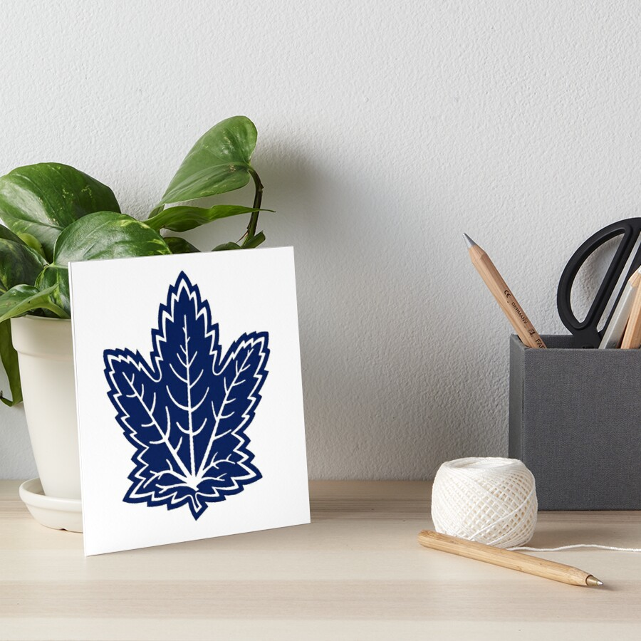 Classic Toronto Maple Leafs Art Board Print By Thesportspage Redbubble