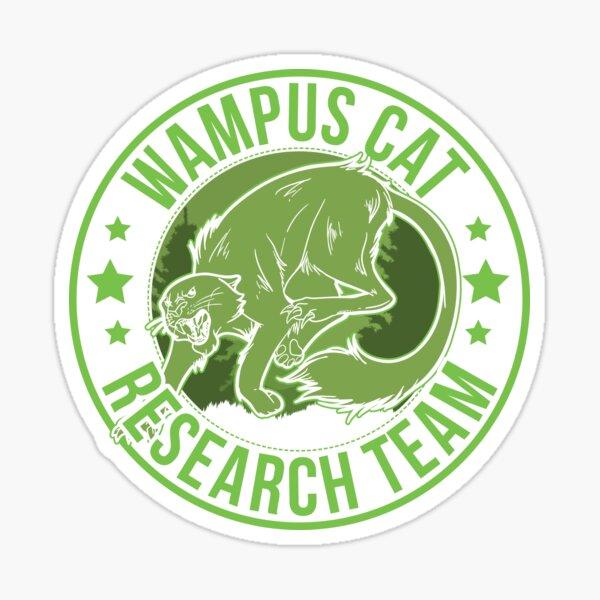 Wampus Cat Undefeated Hide & Seek Champion Cryptid Sticker