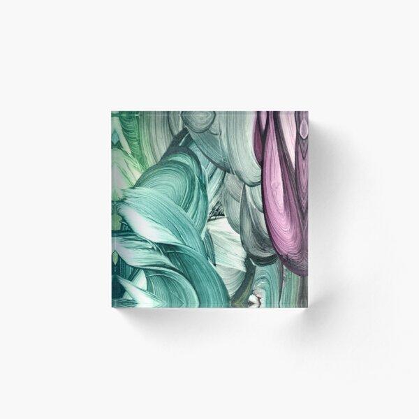 Mermaids X Acrylic Block