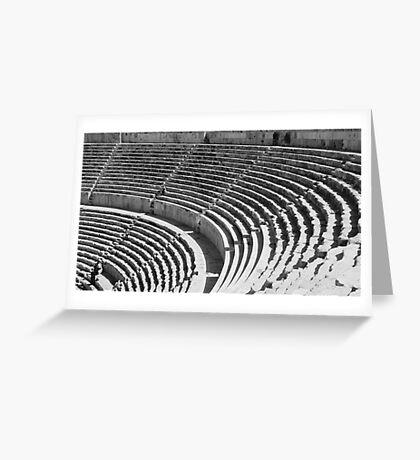 High Chair Greeting Card