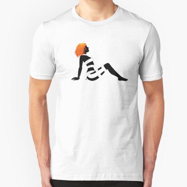 Leeloo Dallas Mudflap Slim Fit T-Shirt