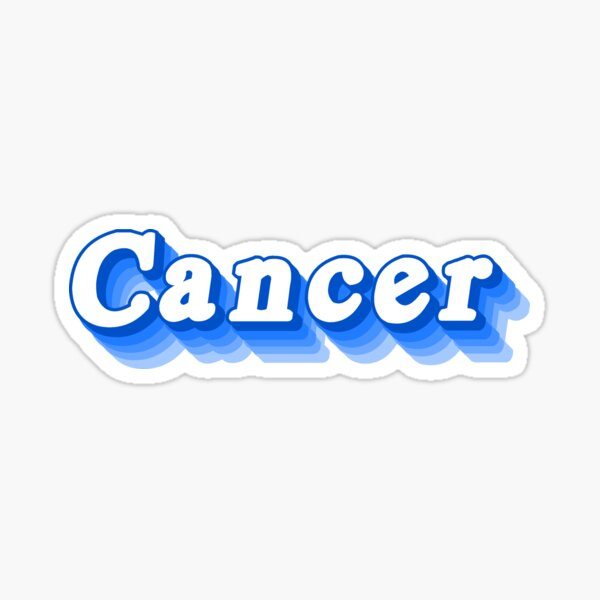 Cancer Aesthetic Stickers Redbubble