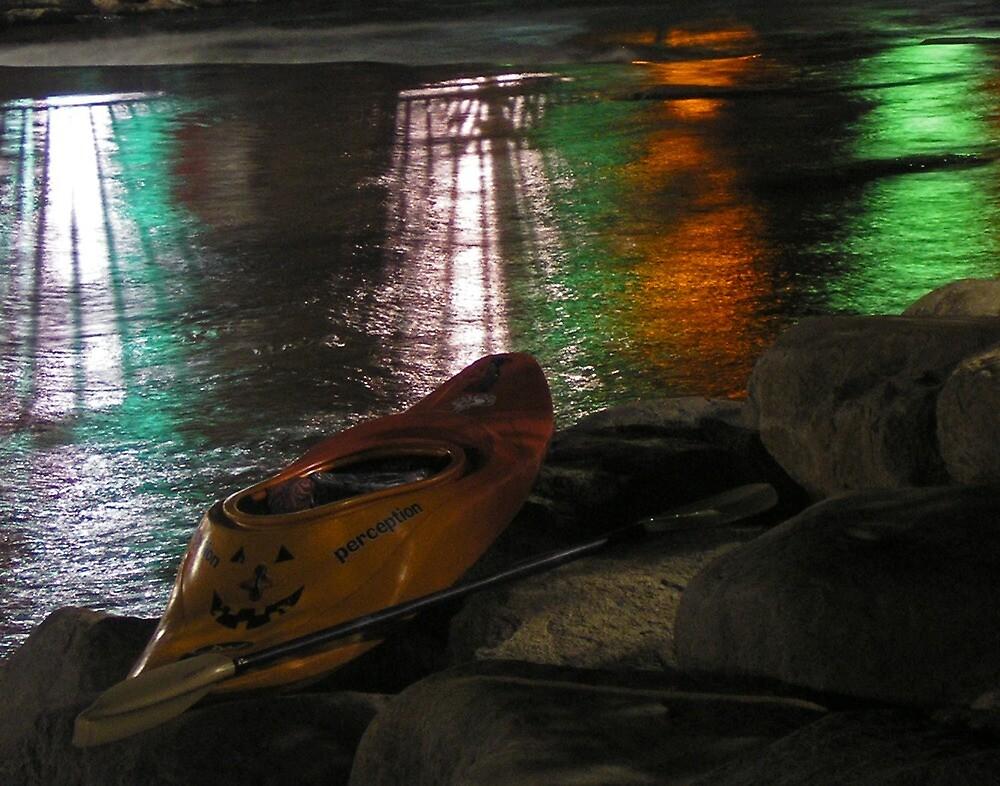 Kayak-o-lantern by Jon  Johnson