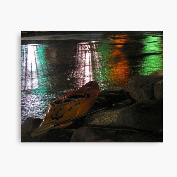 Kayak-o-lantern Canvas Print