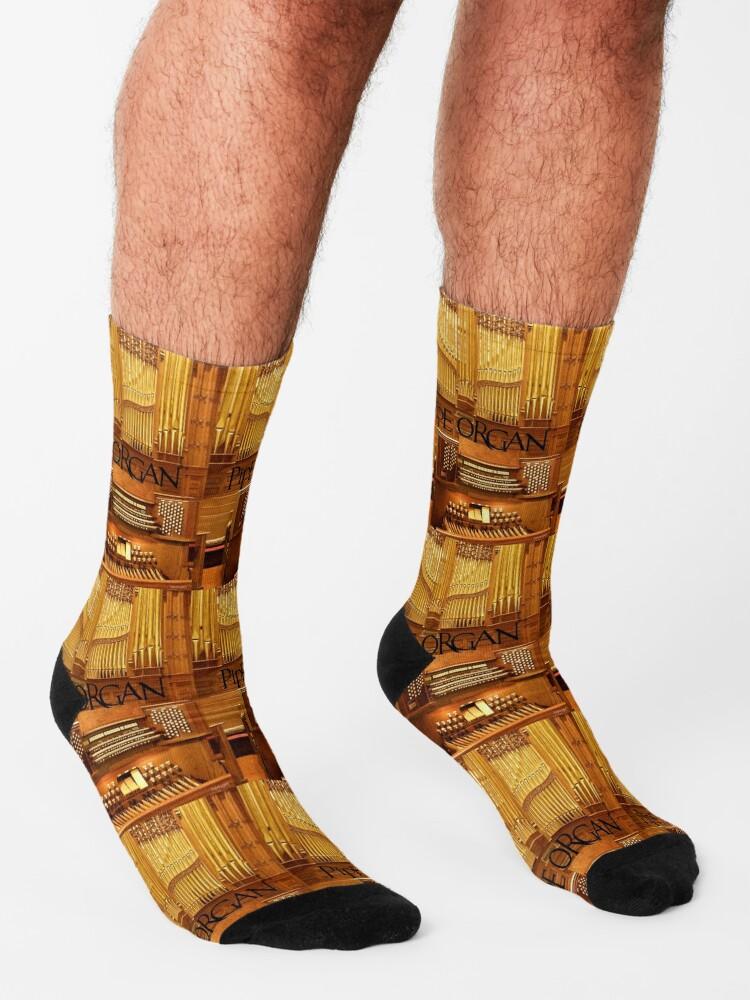 Alternate view of Big Pipe Organ Socks