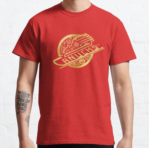 RARE!! Vancouver Hockey - Chinese Year of the Rat Canucks Classic T-Shirt