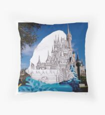 Magic Kingdom Throw Pillow
