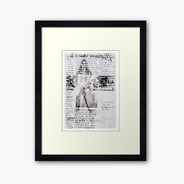 Fashion X-ray Framed Art Print