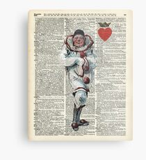 Joker from Playing Cards,Clown,Circus Actor Metal Print