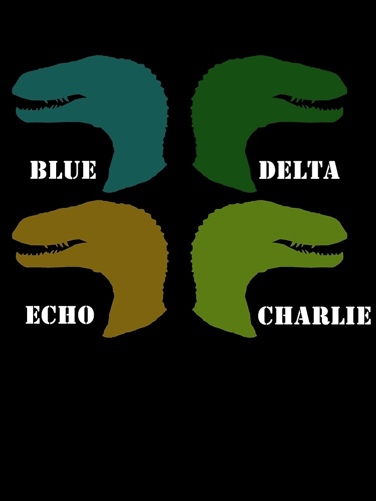 Blue, Delta, Echo, Charlie by LiamSux