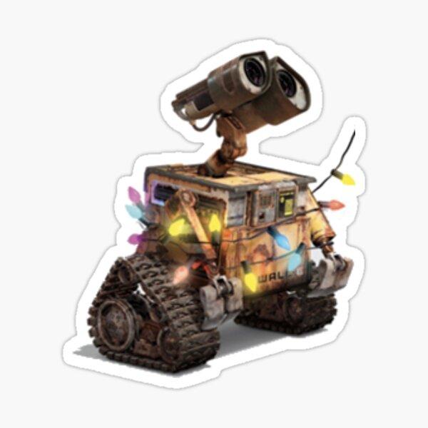 WALL-E con luces. Pegatina