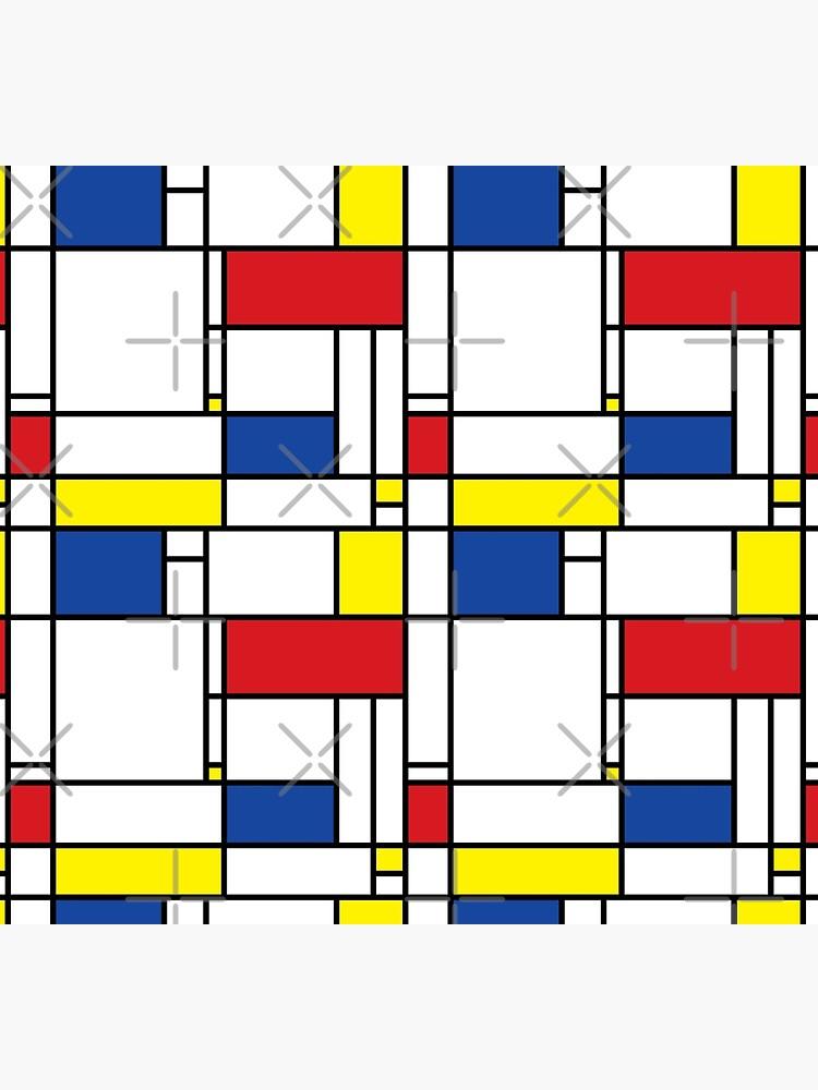 Mondrian Minimalist De Stijl Modern Art © fatfatin by fatfatin