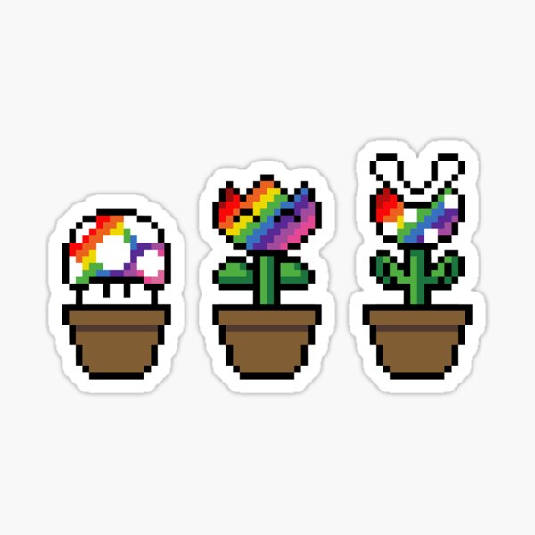 Garden of Pride Sticker