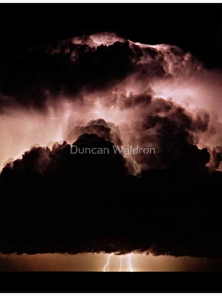 Night storm at sea by DuncanW