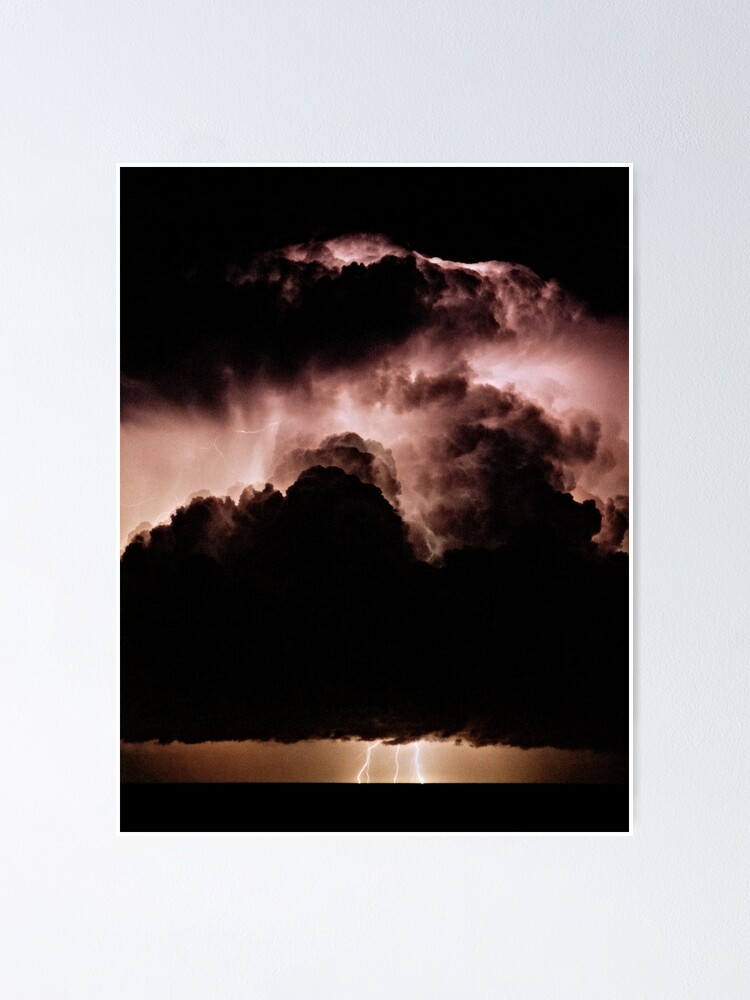Alternate view of Night storm at sea Poster