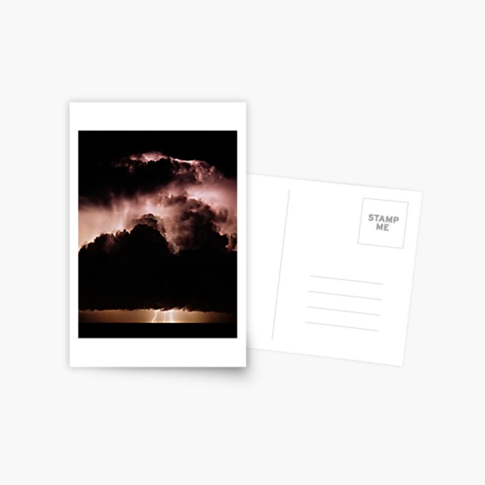 Night storm at sea Postcard