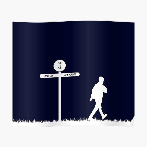 Lands end to John O'Groats walking challenge Poster