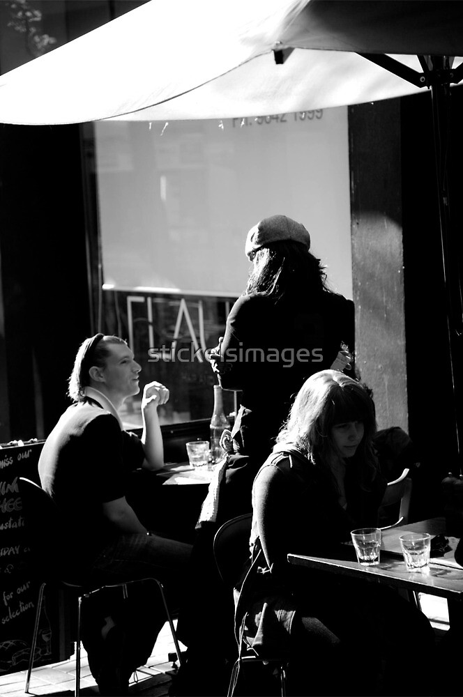 peoplescapes #331, two glasses and one by stickelsimages