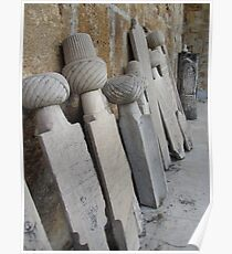 Turkey - Headstones Poster