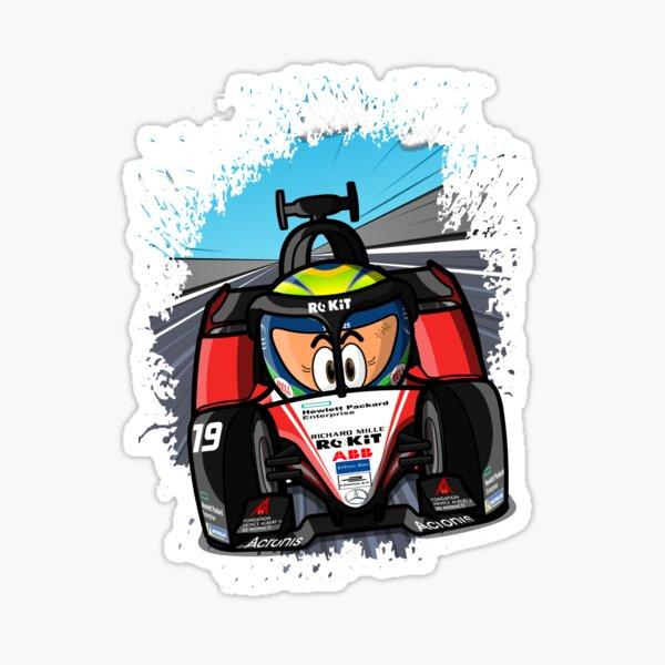 MinEDrivers - F. Massa Sticker